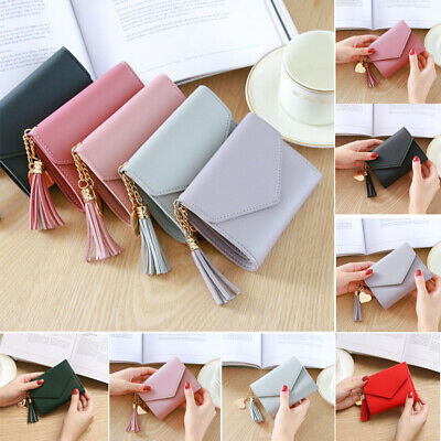 Fashion Women Ladies PU Leather Purse Money Wallet Clutch Card Bag Holder Gift