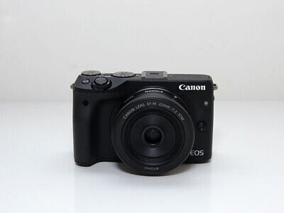 CANON EOS M3 Mirrorless Camera And STM 18-55 EF-M Lens M5 M6 M10 M50