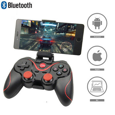 Wireless Remote Game Controller Bluetooth Gamepad For Android IOS Phone PC