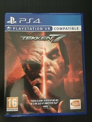 TEKKEN 7 VR Compatible Playstation 4 PS4 NEW SEALED Free UK
