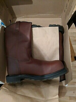 85fa5bda5b7 $190 + TAX pair of Red wing steel toe work boots Mens 11.5 Wide New in Box