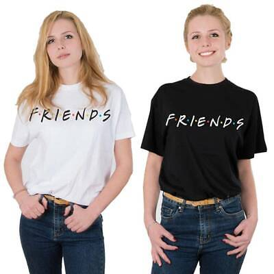 Women Summer Friends T-Shirts Casual Pattern  Ladies Top Female Casual Tee