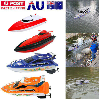 RC Super Mini Kids Remote Control Speed Boat High Performance Boat Toy
