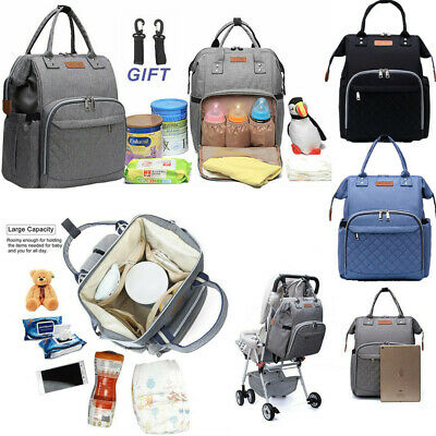 Multi-Function Baby Mummy Bag Changing Bags Tote Diaper Nappy Rucksack Backpack