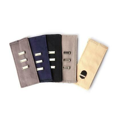 HOT Maternity Button Hooks Waistband Belt Tight Elastic Waist Extender Pant