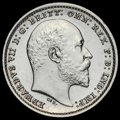 1906 Edward VII Silver Maundy Twopence