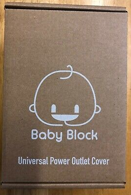 Safety Electric Outlet Cover | Child Baby Proof Power Outlet, Wall Socket, Plugs