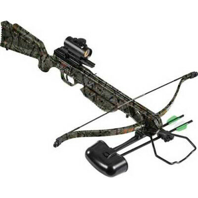 Barnett Wildgame XR250C Recurve Crossbow Kit Elude Camo with Red Dot Sight