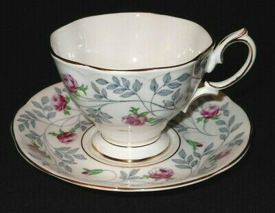 Royal Albert Conway England gorgeous colorful tea cup and saucer set.
