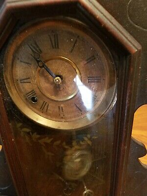 Antique R&J kitchen clock non-functional comes with the key