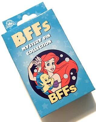 Disney Parks Best Friends BFF's 2 Pin Mystery Character Box Pack Sealed - NEW