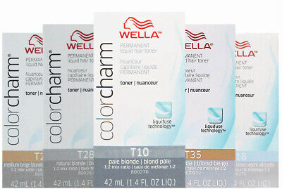 Wella-T18 Hair Colour Toner Lightest Ash Blonde