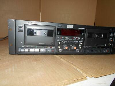 Tascam 302 Dual Well Cassette Deck Recorder (Used) IG694 ~