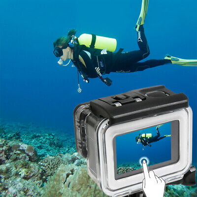 35m Diving Waterproof Touch Type Cover Case For Xiaomi Yi 4K 2 II Action Camera