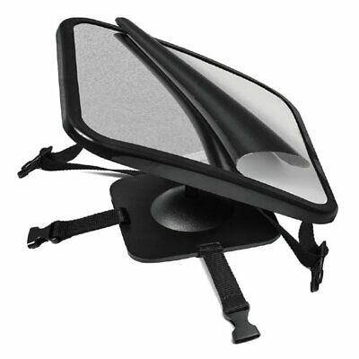 Adjustable Wide View Rear Baby Child Car Seat Safety Mirror Headrest Mount HW