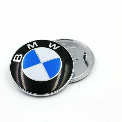 Boot Bonnet Front and Back Rear 73mm Emblem Badge Symbol Logo FOR BMW New HW