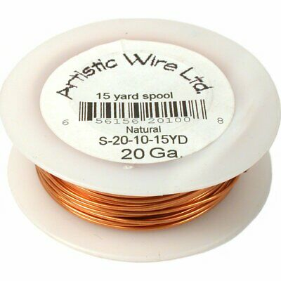 Copper Artistic Wire Spool Craft Wrapping Part 20g 15YD