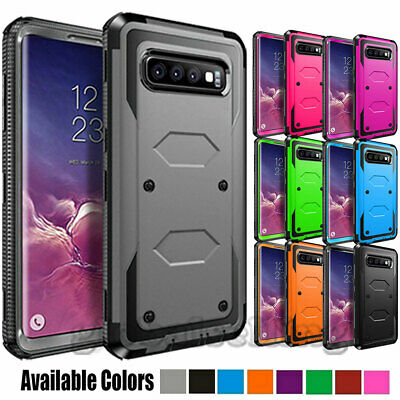 Samsung Galaxy Note 9/S8/S9/S10 Plus Hybird Shockproof Rugged Bumper Case Cover