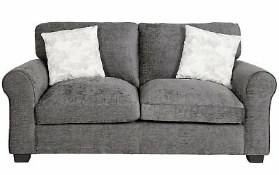 Groovy Argos Home Tammy Fabric 2 Seater And 3 Seater Sofa Charcoal Bralicious Painted Fabric Chair Ideas Braliciousco