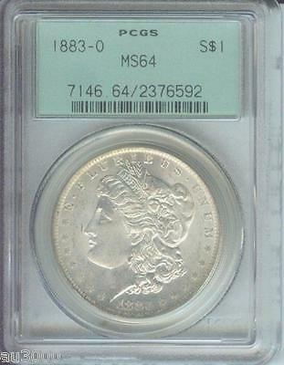 1883-O Morgan Silver Dollar S$1 Pcgs Ms64 Nice Ms-64 Old Green Holder Ogh !!
