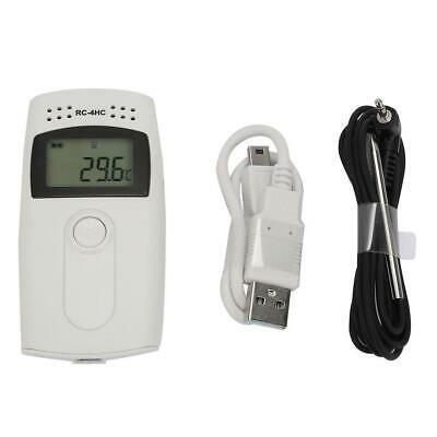 RC-4HC Digital USB Temperature Humidity Reuseable Data Logger With Alert