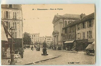 13722 - Vincennes - Place De L Eglise