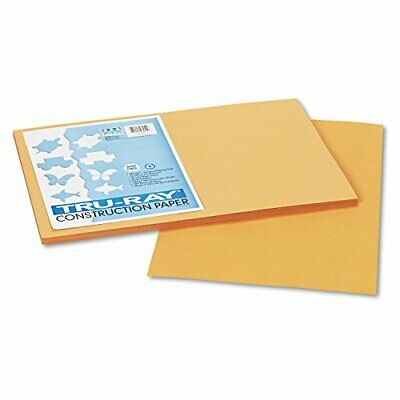 Strathmore / Pacon Papers 103055 Tru Ray Sulphite Construction Tan 50 Pack 12X18