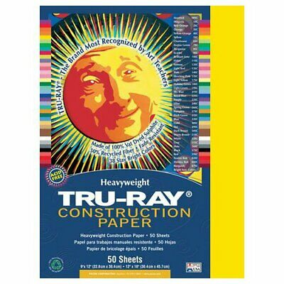 Strathmore / Pacon Papers 103041 Tru Ray Sulphite Construction Violet 50 Pack...