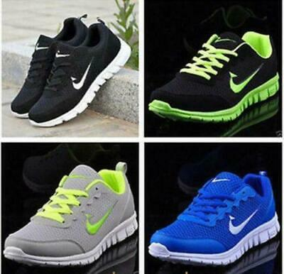 Mens Athletic Sneakers Outdoor Sports Running Casual Breathable Shoes Wholesale,