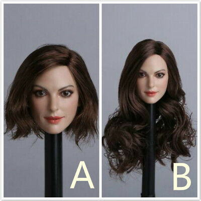 1/6 sacle Europe and America Beauty Girl Head sculpt Anne Hathaway fit 12'' body