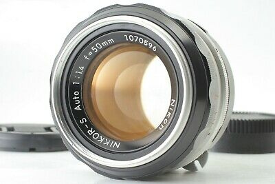 Excellent Nikon NIKKOR-S Auto 50mm F1.4 Non-Ai Lens for Niko  F From Japan #29