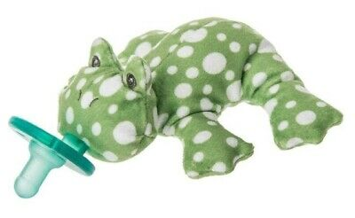 WubbaNub Fizzy Frog Infant Soothie Pacifier Soft Stuffed Animal Soother