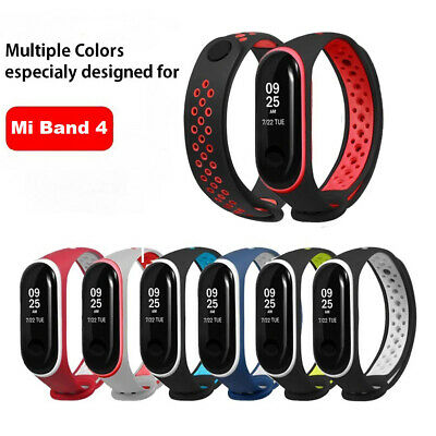 Silicone Watchband Replacement Smart Band Strap Bracelet For Xiaomi Mi Band 4