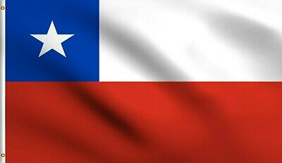 FLAGLY Chile South American Chilean Banner Indoor Outdoor Polyester Flag