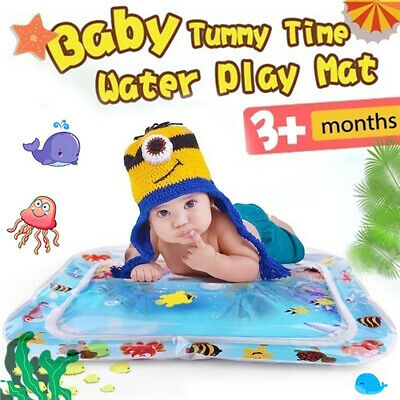 Inflatable Baby Water Mat Novelty Play for Kids Children Infants Funny 60*51cm