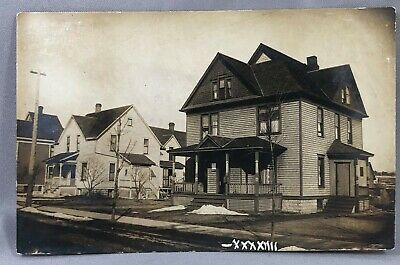 c 1910 CEDAR FALLS IOWA Home Real RPPC PHOTO Postcard ANTIQUE Original