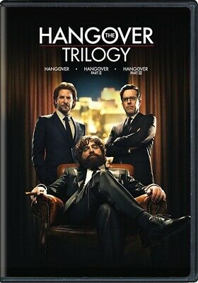 THE HANGOVER TRILOGY New Sealed DVD Part 1 2 3 I II III