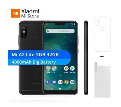 "Global Version Xiaomi Mi A2 Lite 4GB+64GB Mobile Phone 5.84"" Full Screen free"