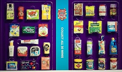 Coles Little Shop 2 Mini / Newspaper Collectables Choose Your Item Free Postage