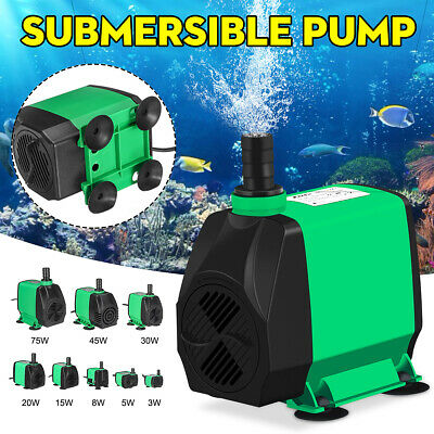 🔥 Adjustable Submersible Dirty Water Pump Pool Aquarium Fish Pond Tank Fountain