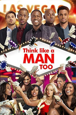 Regina Hall, Terrence Jenkins-Think Like a Man Too DVD NEW