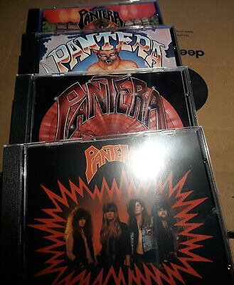 Pantera - Metal Magic/Projects In The Jungle/I Am The Night/Power Metal 4CD-SET