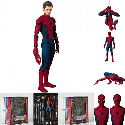 """Hot 6"""" Spider-Man Homecoming Action Figure Collection Mafex Gift Toy NEW"""