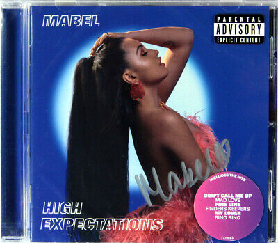 Mabel - High Expectations (Limited CD Signed by Mabel) New