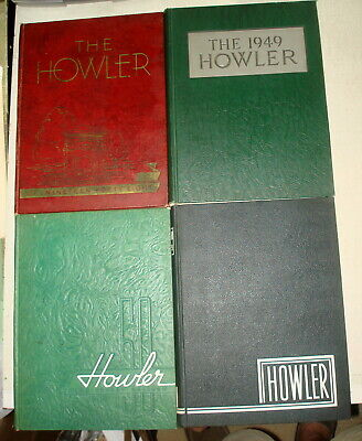 1948-51 HOWLER Wake Forest University 4 Vol Lot COMPLETE ARNOLD  PALMER YEARS