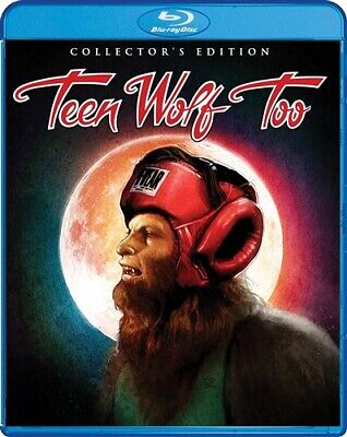 TEEN WOLF TOO New Sealed Blu-ray Collector's Edition