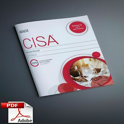 CISA Review Manual by ISACA 27 edition- 2019-P.D.F