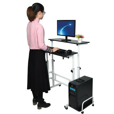 Home Office Version Computer Desk Can Be Raised And Lowered Folding Office USA