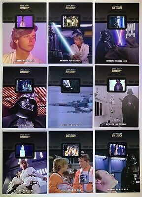2013 Topps Star Wars Jedi Legacy Full Set of 30 Authentic Film Cel Relic Cards