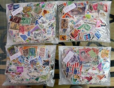 WORLDWIDE STAMPS Wholesale 100 gms Unsorted Charity Off Paper SEE BELOW NR400